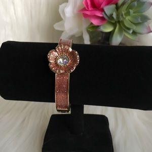 Betsey Johnson Glitter Magnetic Bracelet